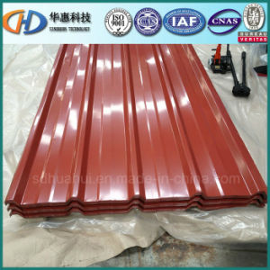 Most Popular Prepainted Corrugated Steel Roofing Sheet pictures & photos