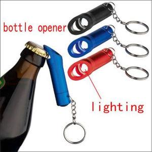 1 LED Keyring Bottle Opener with Flashlight