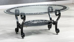 Famous Design Hot Sale Living Room Modern Glass Coffee Table pictures & photos