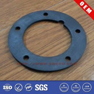 FDA Silicone Rubber Round Flange Gasket (SWCPU-R-FG044) pictures & photos