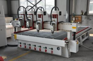 Jinan Omni Multi Heads CNC Router with Ce