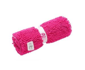 High Quality Polyester Chenille Non-Slip Bathroom Floor Mat pictures & photos