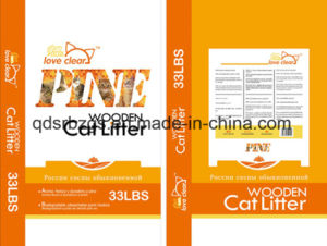 BOPP Film-Laminated Plastic Packaging PP Woven Cat Litter Bag / Sack pictures & photos