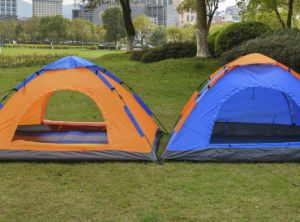 One Layer Aotomatic Outdoor Tent, Camping Tent pictures & photos