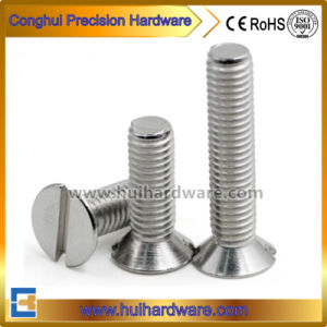 Stainless Steel 304/316 Countersunk Slotted Head Screws DIN963 pictures & photos