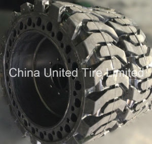 Solid Skid Steer Loader Tyre 10X16.5, 12X16.5 pictures & photos