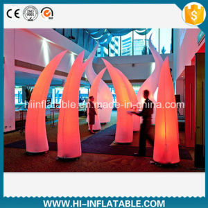 Best Sale Event Applied LED Light Inflatable Tusks Decoration