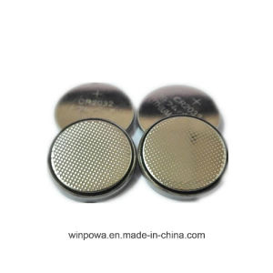 Cr2032 3V Lithium Button Cell Battery 5 Packs pictures & photos