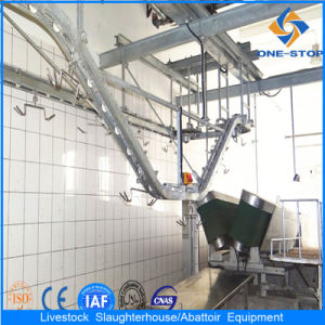 Goat Slaughter Equipment with Subdiving Conveyor pictures & photos