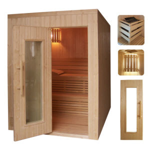 Wet Sauna Room with Sauna Heater pictures & photos