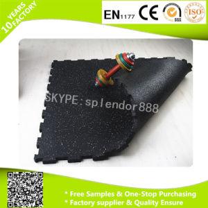 Interlock Gym Rubber Flooring pictures & photos