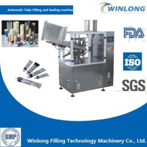 Automatic Metal Tube Filling and Sealing Machine pictures & photos