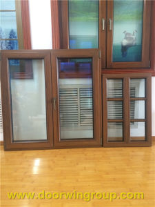 Solid Teak Wood Aluminum Windows for USA Clients pictures & photos