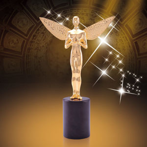 Customized High Quality Metal Award with Gold Silver Bronze Color pictures & photos