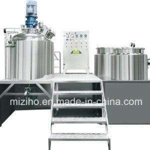 500L Liquid Soap Heating Mixing Homogenizing Mixer Machine pictures & photos