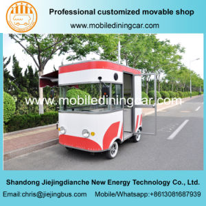 China Popular Electric Fast Food Truck with Good Quality pictures & photos