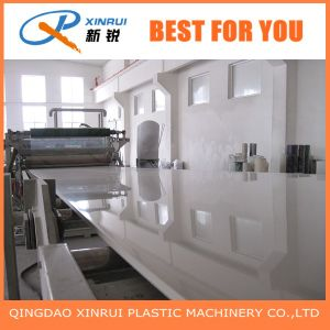 PVC Solid Board Extruder machinery with Three Roller Calender pictures & photos