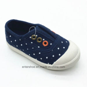 New Colletion Injection Canvas Kids Shoes (ET-AL170455K) pictures & photos
