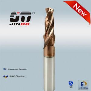 Tungsten Carbide 2 Flute Step Drill Bit pictures & photos