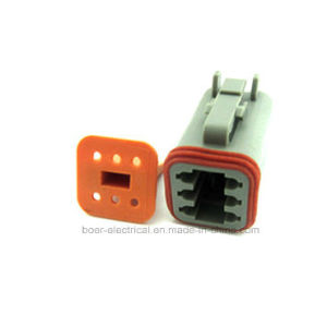 Deutsch Auto Connector Cable Assembly Sockets with Seals and Terminals pictures & photos