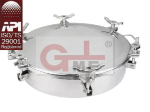 Stainless Steel Full Opening Manhole Cover (H801A-500/H801B-500) pictures & photos