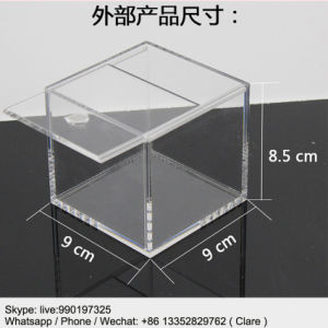 Clear Acrylic Plexiglass Silding Box pictures & photos