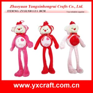 Valentine Decoration (ZY13L930-1-2-3) Love Monkey Valentine Toy pictures & photos