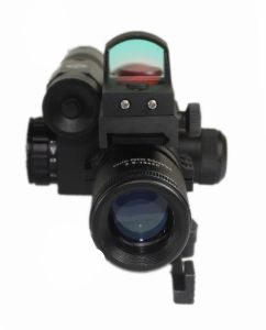 Vector Optics 2.5-10X40 Hunting Green Laser Riflescope with Mini Red DOT Scope Weapon Sight pictures & photos