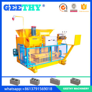 Qmy6-25 Movable Egg Layer Hollow Block Making Machine