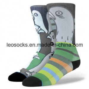 Sublimation Socks Digital Printing Socks Custom Design Sublimated Socks pictures & photos