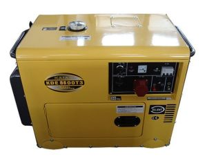 8kVA Silent Type Diesel Generator 3phase Kde8600t3 pictures & photos