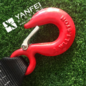 Webbing Sling with Triangle Ring Eye Hoist Hook for Aquaculture pictures & photos