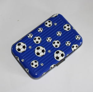 Football RFID Block Durable Aluminum Credit Card Holder (MW21004) pictures & photos