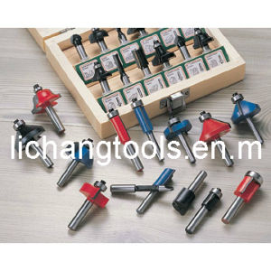Wood Working Router Bit with Colourful Surface pictures & photos