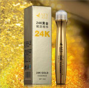 Afy Brand 24k Gold Essence Under Eye Dark Circle Cream Eye Cream Applicator pictures & photos