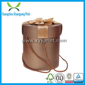 Competitive Custom Round Paper Cardboard Gift Paper Box pictures & photos