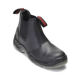 Safety Boots with Steel Toe and Steel Plate PU Outsole