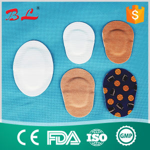 Medical Sterile Island Eye Pad Non Woven Colorful Eye Pad pictures & photos