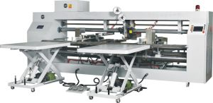 Double Head Semi Automatic Stitcher