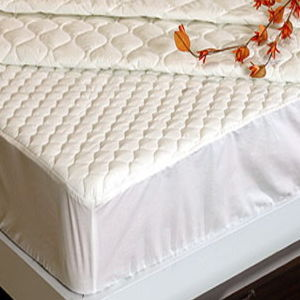 7D Hollow Fiber Fitted Mattress Protector pictures & photos