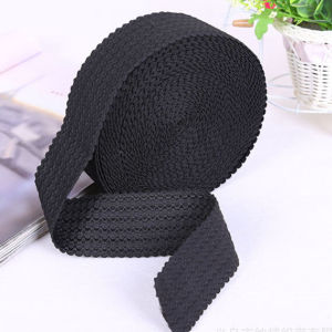 Customized Black Elastic Belt Sling Webbing for Garment pictures & photos