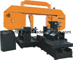 Double Column (Round) Band Saw Gantry Gd42100 pictures & photos