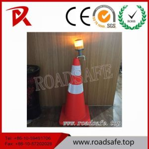 Traffic Block Beacon Solar LED Warning Traffic Cone pictures & photos