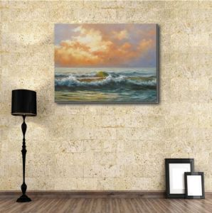 Art Painting of Light of The Setting Sun pictures & photos