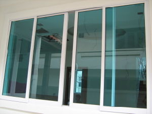 European Style Aluminum Double Glazing Sliding Window Aluminum Glass Windows