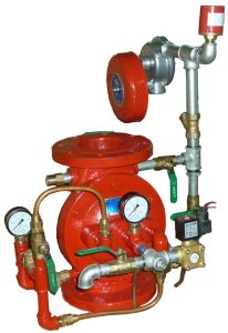 Diaphragm Type Deluge Alarm Valve pictures & photos