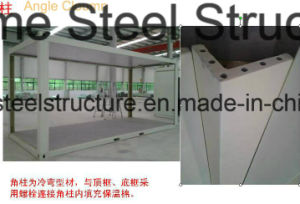 Mineral Wool Sandwich Panel Office Container with Best Price pictures & photos