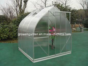 Growell 6mm Polycarbonate Greenhouse with Curved Design (V7 Series) pictures & photos