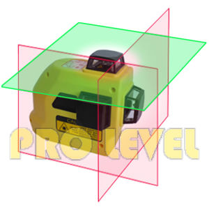 360-Degree 3-Plane Leveling and Alignment Laser Level (SW-99TG2R) pictures & photos