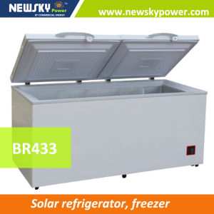 433L DC Solar Freezer Used Commercial Freezers for Sale pictures & photos